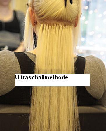 Haare verlangern mit ultraschall